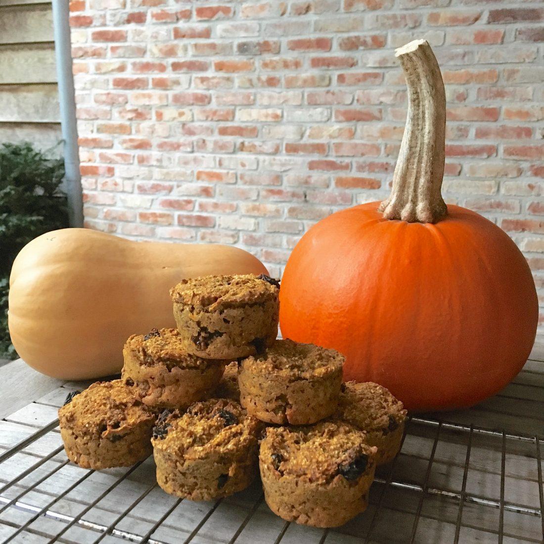 Pumpkin spiced muffins_1