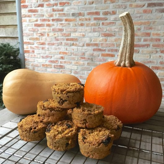 Pumpkin spiced muffins_1