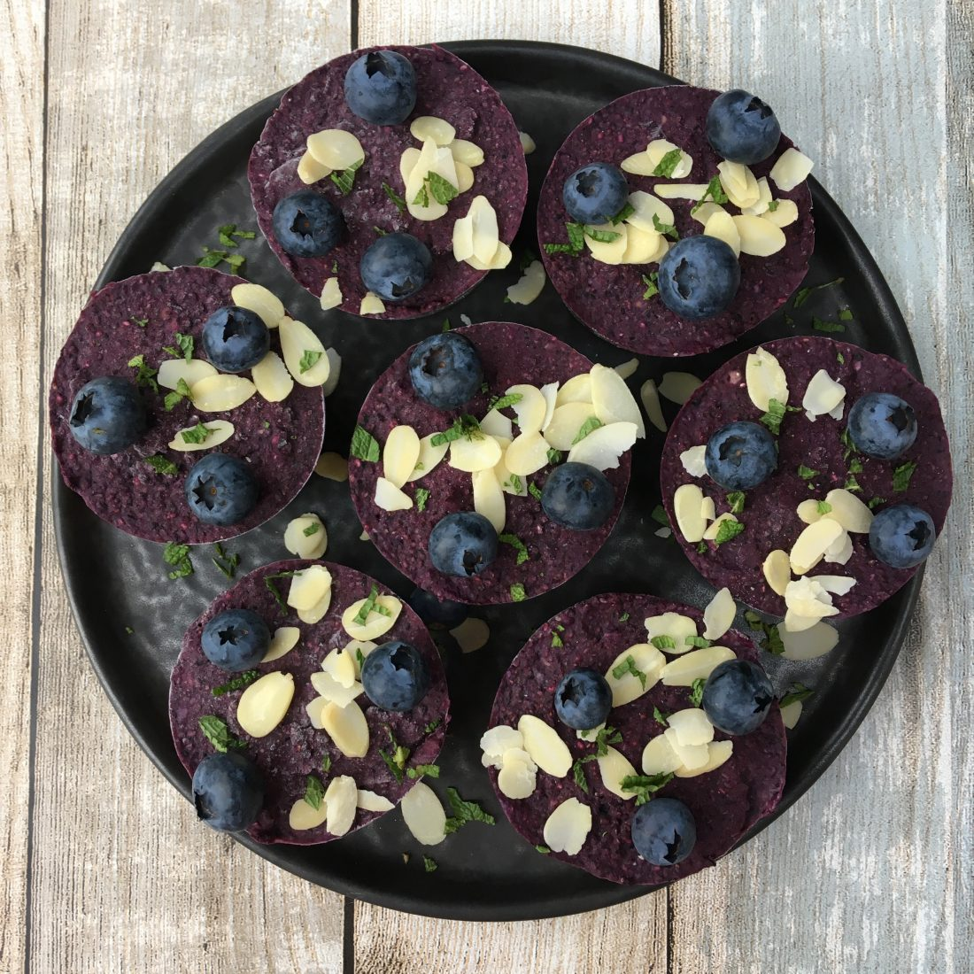 blueberry mini tarts_top